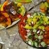 Курица, фаршированная овощами