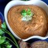 Чечевичный суп-пюре на курином бульоне