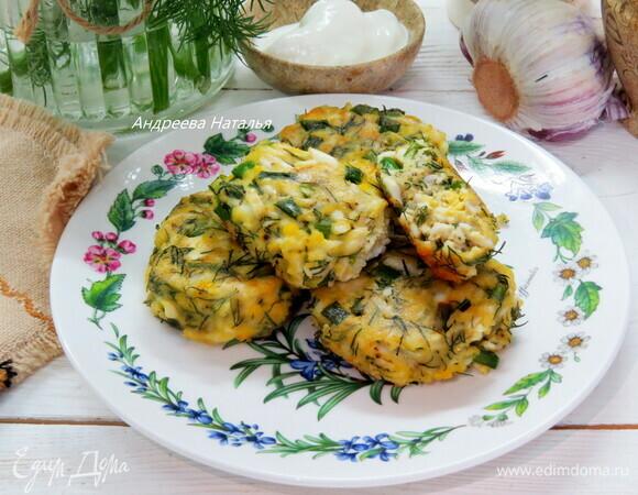 Котлетки из вареных яиц с зеленью