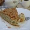 Яблочный пирог на газированной воде со штрейзелем
