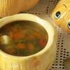 Суп из цесарки с тыквой