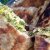 Чебуреки с зеленью и сыром