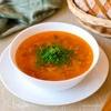 Суп с жареной капустой