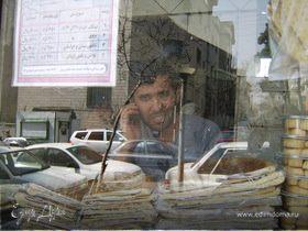 Путешествие по иранским хлебопекарням