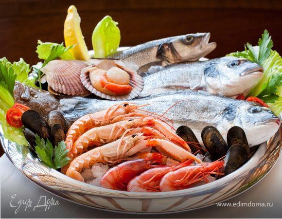 Природная сила морепродуктов