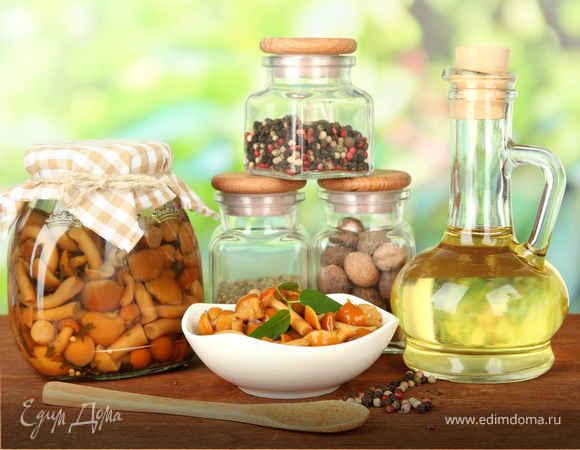 рецепты соления грибов
