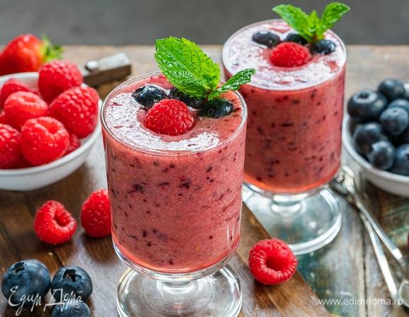 Весенние смузи: вкусная польза в бокале