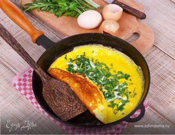 как сделать яичницу на сковороде рецепт