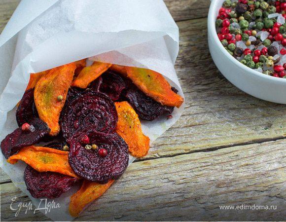 Овощные чипсы: пять полезных и вкусных рецептов