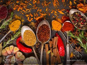 Худеем со вкусом: десять специй, пряностей, приправ для тех, кто на диете