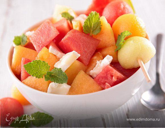 Сладкая феерия: семь блюд из арбуза и дыни