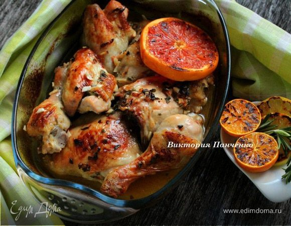 ресторанные блюда из курицы рецепты с фото