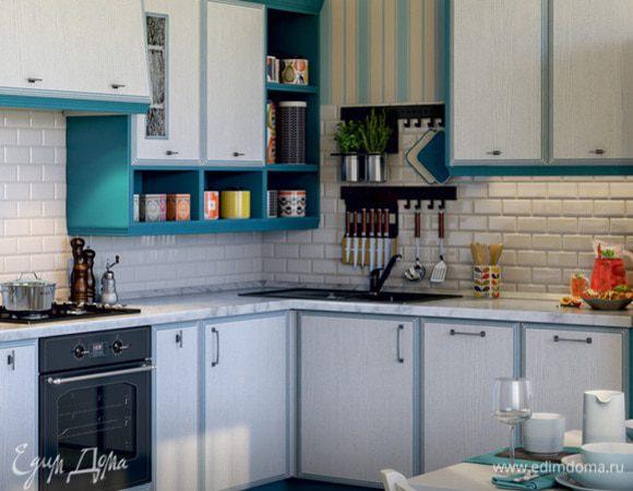 Половина кухни в подарок от Мастерской кухонной мебели «Едим Дома!»