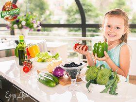 Интересные сочетания напитков и блюд для детей