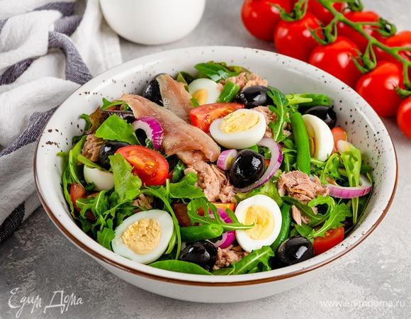 6 рецептов любимых салатов из разных стран