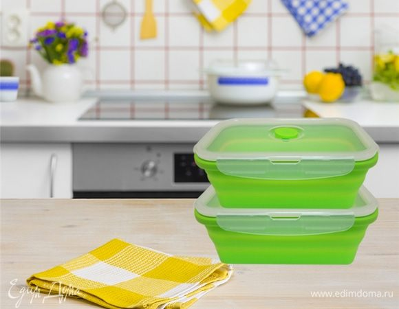 Компактный мир: складные силиконовые аксессуары для кухни