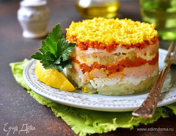 Праздничные блюда: готовим новогоднюю классику — салат «Мимоза»