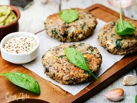 Кулинарные эксперименты: котлеты из овощей и грибов и соусы для подачи