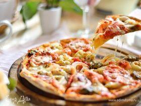 Быстрый мастер-класс: домашняя пицца