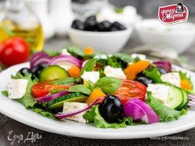 Средиземноморская изюминка: готовим салаты с оливками и маслинами