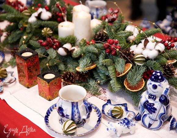 Русские мотивы: создаем идеальную новогоднюю сервировку стола