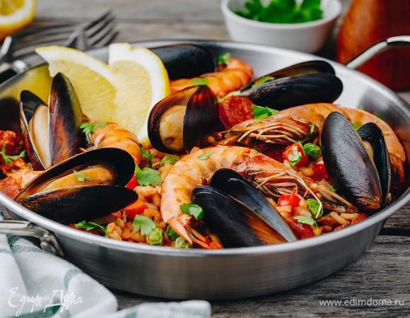 Паэлья: секреты приготовления блюда