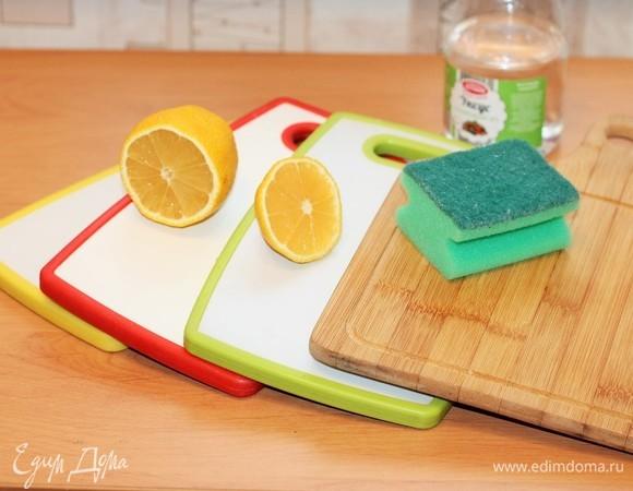 Приводим в порядок кухонные доски