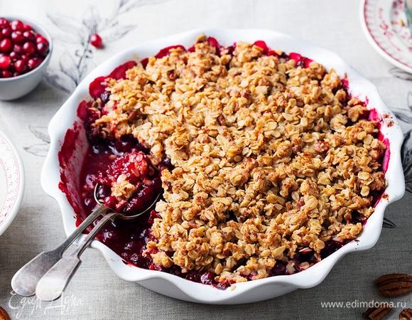 Поздняя ягода: блюда и напитки с клюквой для всей семьи