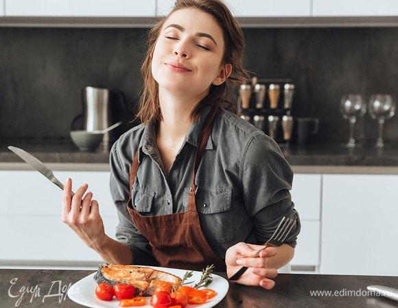 Как получать удовольствие от еды, не страдая от переедания