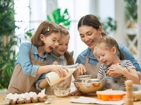 На кухню за вдохновением: простые рецепты для приготовления с детьми