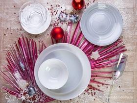 Мастер-класс: сервируем стол для новогодней вечеринки