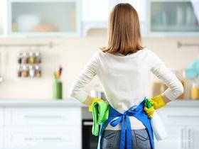 Инфографика: как убрать на кухне за 15 минут