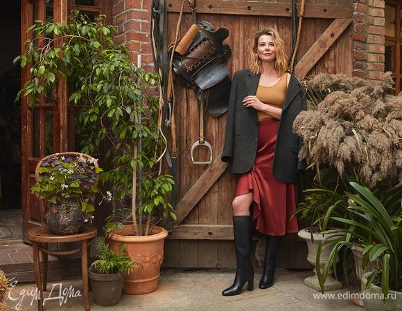 Юлия Высоцкая и «Эконика» выпустили вторую капсульную коллекцию обуви и аксессуаров