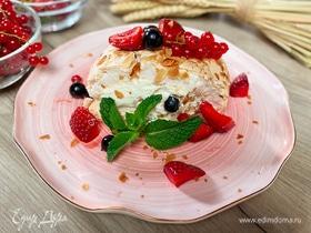 Олег жарит! Меренговый рулет с ягодами
