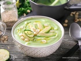 Нежный крем-суп из цукини и авокадо: инфографика