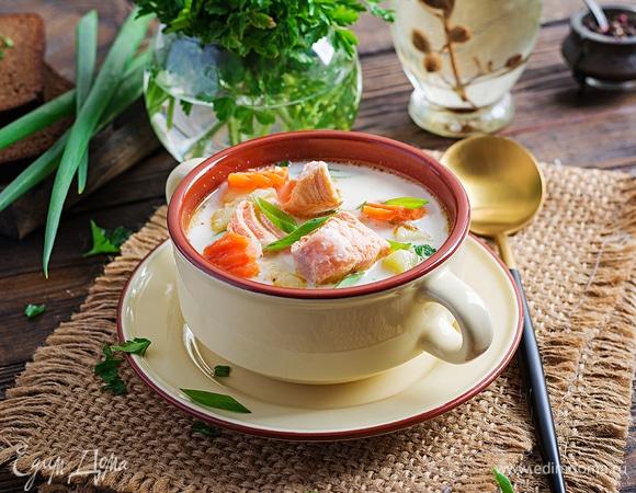 Быстрый мастер-класс: финский суп с лососем лохикейто