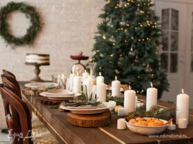 Праздничный декор новогоднего стола: встречаем 2021 год красиво!