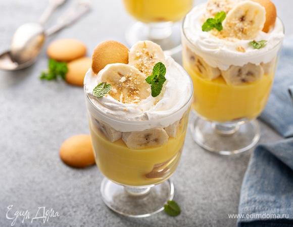 Быстрый мастер-класс: банановый пудинг