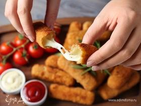 Быстрый мастер-класс: сырные палочки во фритюре