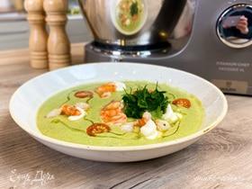 Олег жарит! Холодный суп из авокадо в азиатском стиле