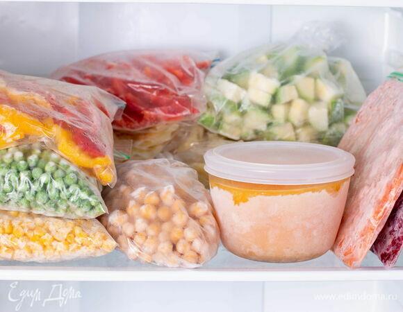 Заморозка на зиму: 20 продуктов, которым место в вашей морозилке