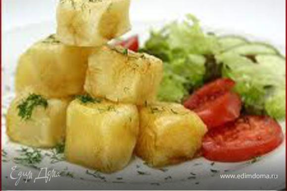 Подавать «Сибас» со свежими овощами и деревенским картофелем. ПРИЯТНОГО АППЕТИТА!