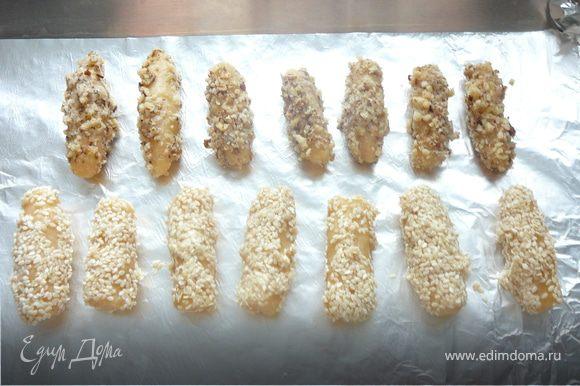 В разогретой духовку поместить печенье и выпекать 20 минут при температуре 180-200 С