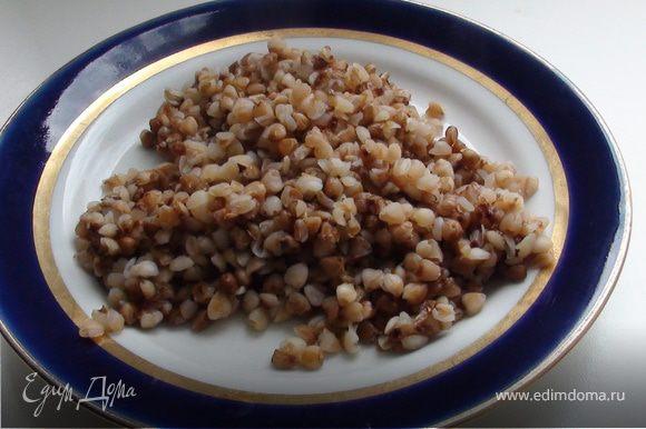 как приготовить гречку с подливом