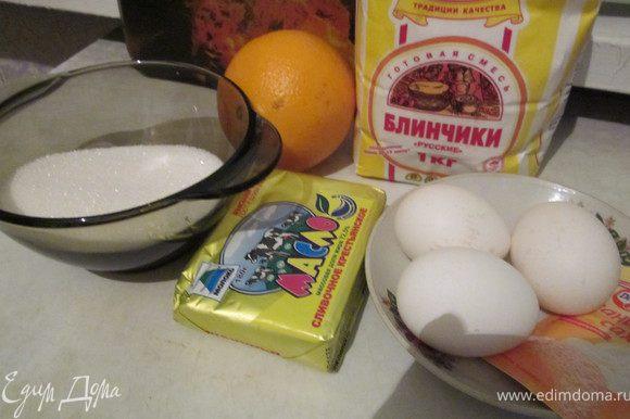 Набор продуктов для маффинов: