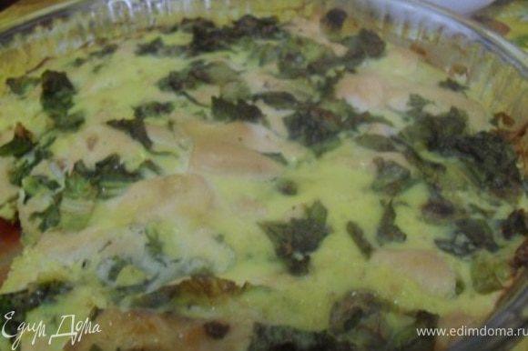 Готовое блюдо подавать с соусом, для которого необходимо сметану смешать с зеленью и чуть-чуть посолить.Как видите, все предельно просто, но поверьте мне, это оооочень вкусно.Приятного аппетита!!!:)))