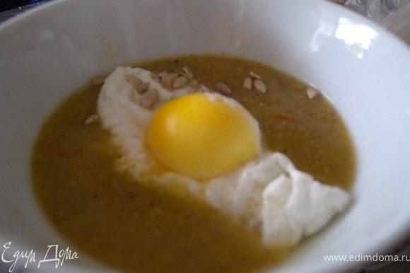6. Еще вкусно было с яйцом-пашот (пробовала приготовить его в микроволновке ка советовала Мария ЛапШа :-))) Приятного аппетита!