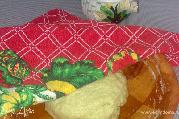 Замесит тесто по рецепту http://www.edimdoma.ru/recipes/20446