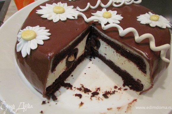 Вот тортик в разрезе! Красавец!