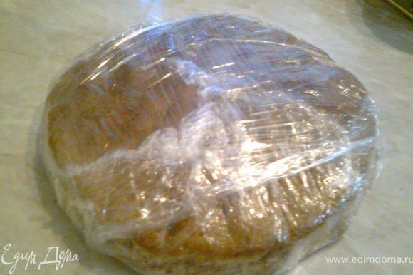 После выпечки кекс хорошо остудить, завернуть в пищевую пленку и убрать в холодильник на 3 недели.